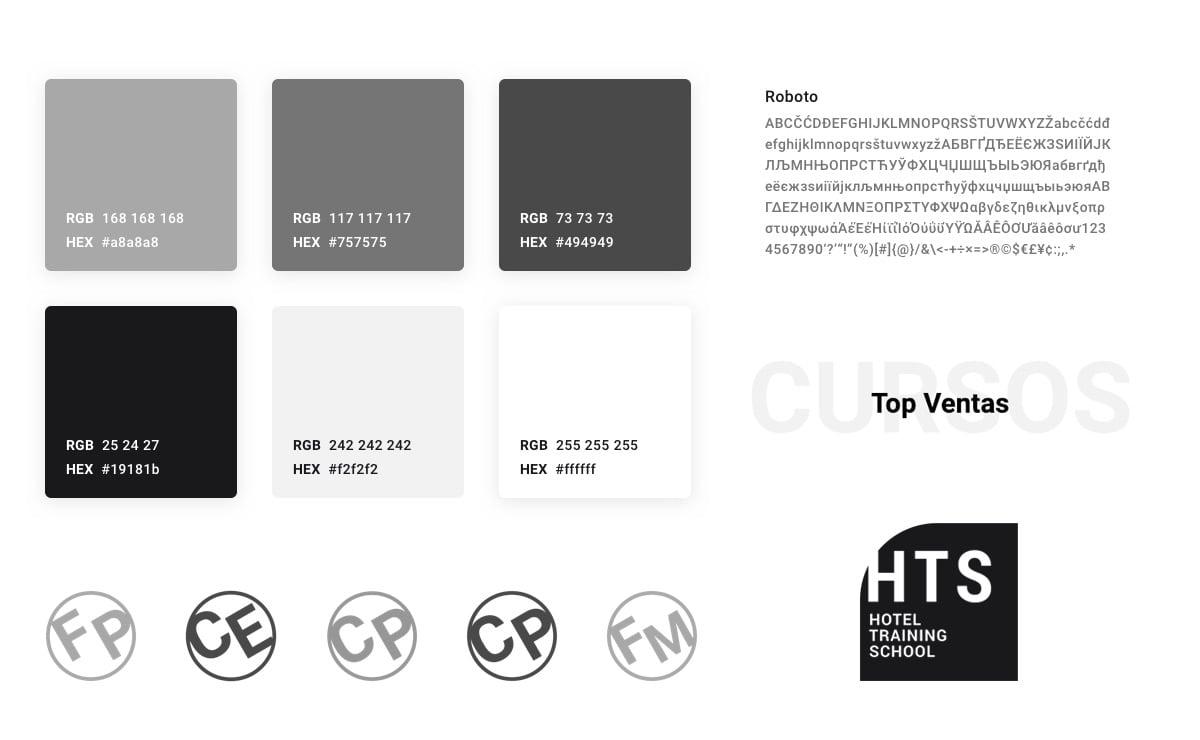 Proyecto Web HTS School - Corporativo