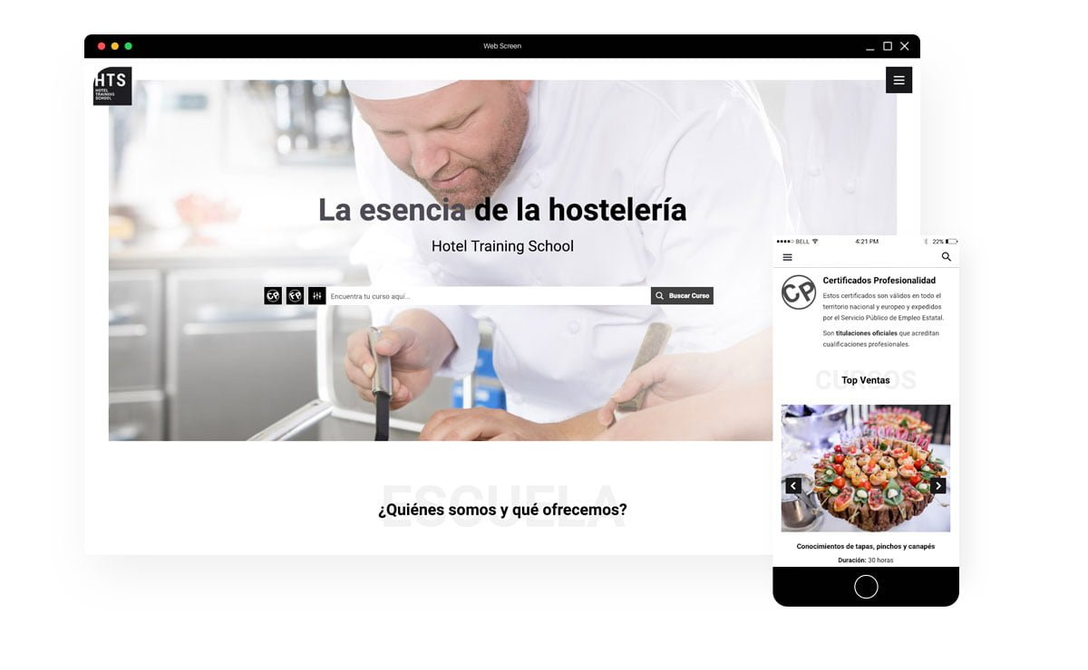 Proyecto Web HTS School - Responsive