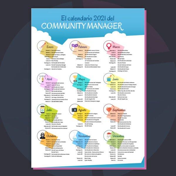 Comprar Calendario Community Manager 2021