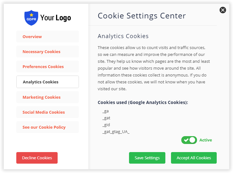 Cookie GDPR Plus